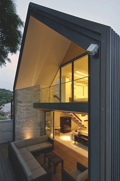 Fachadas de casas estilo contemporaneo 27 decoracion de for Estilo contemporaneo casas