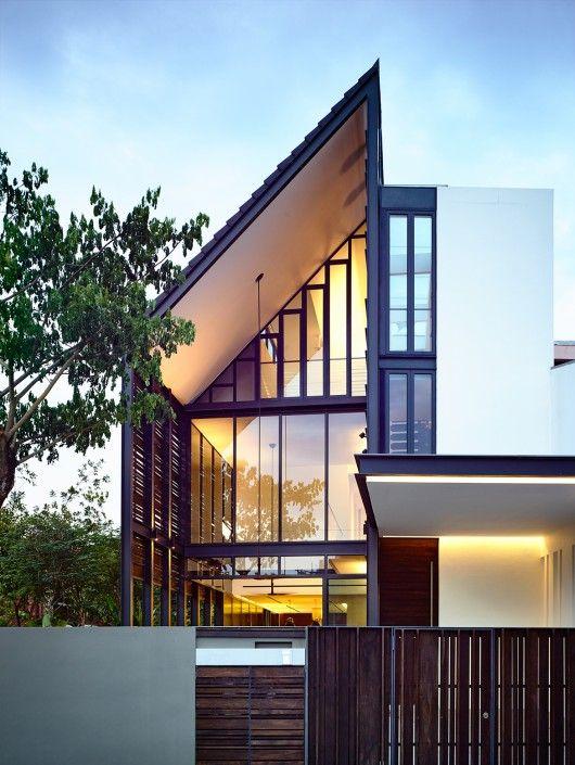 Fachadas de casas estilo contemporaneo 35 como organizar for Fachadas de casas estilo contemporaneo