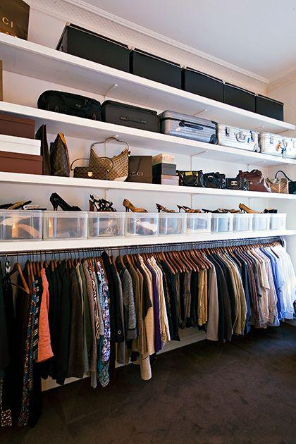 Fantasticas Ideas De Closets Detras De La Cama 3