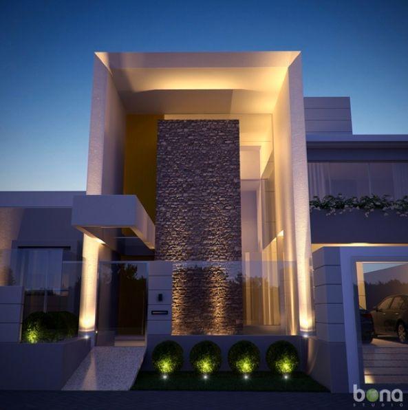Fantasticas ideas para fachadas de casas 15 decoracion - Ideas para fachadas de casas ...