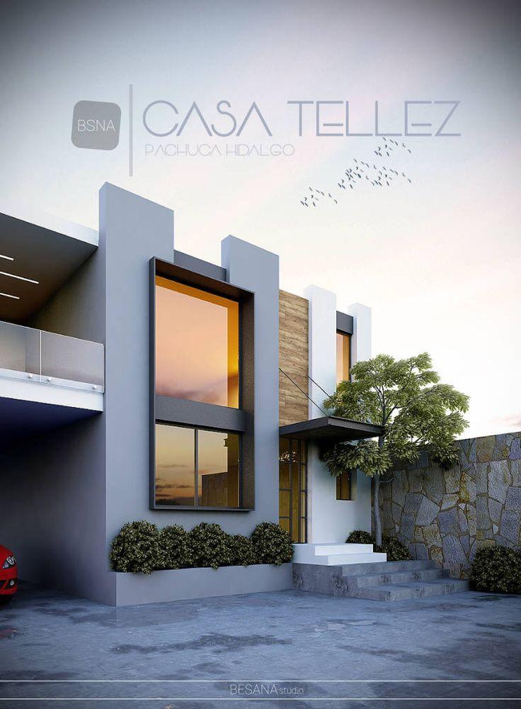Fantasticas ideas para fachadas de casas 17 decoracion - Ideas para fachadas de casas ...