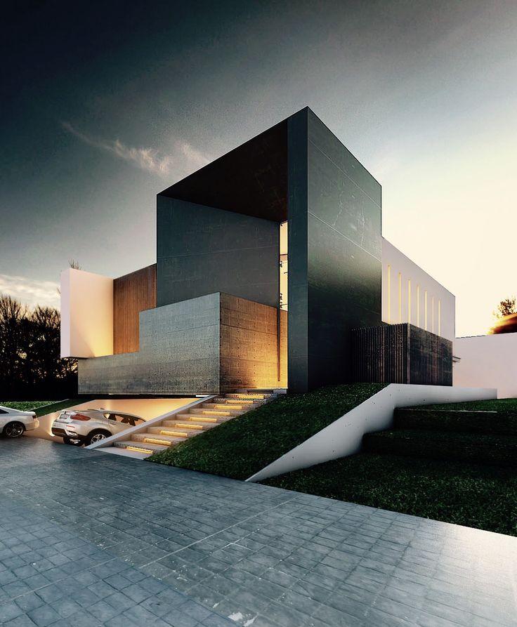 Fantasticas ideas para fachadas de casas 29 decoracion - Ideas para fachadas ...