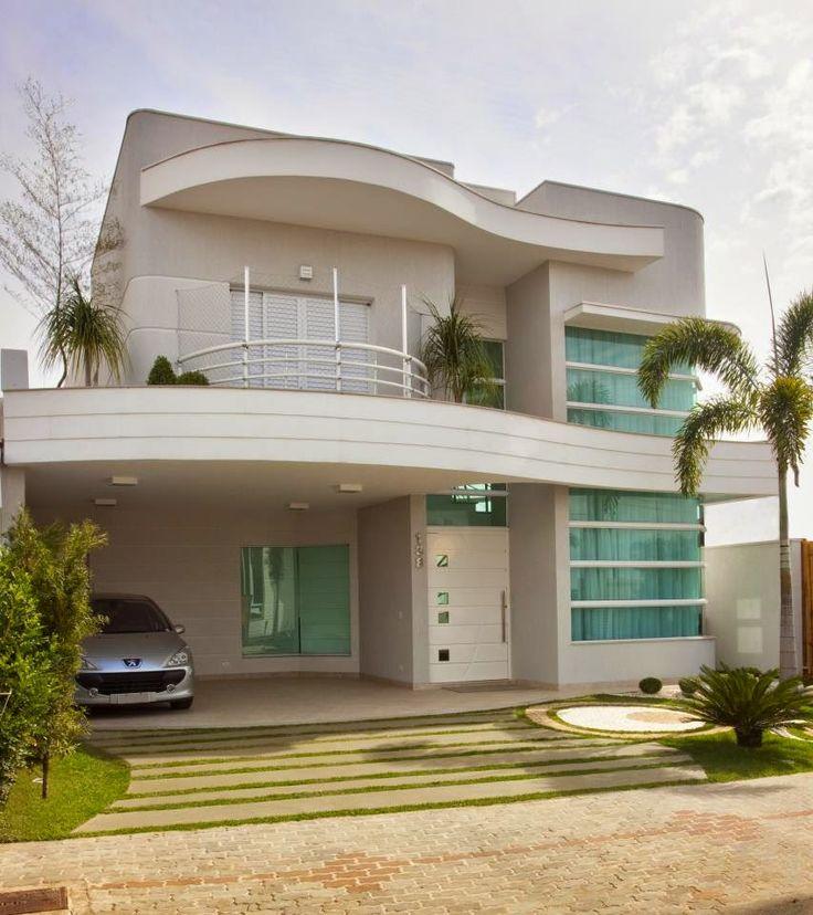 Fantasticas ideas para fachadas de casas 40 decoracion for Decoracion de fachadas de casas