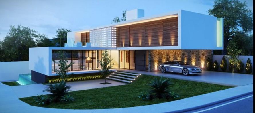 Fantasticas ideas para fachadas de casas curso de - Ideas para fachadas de casas ...