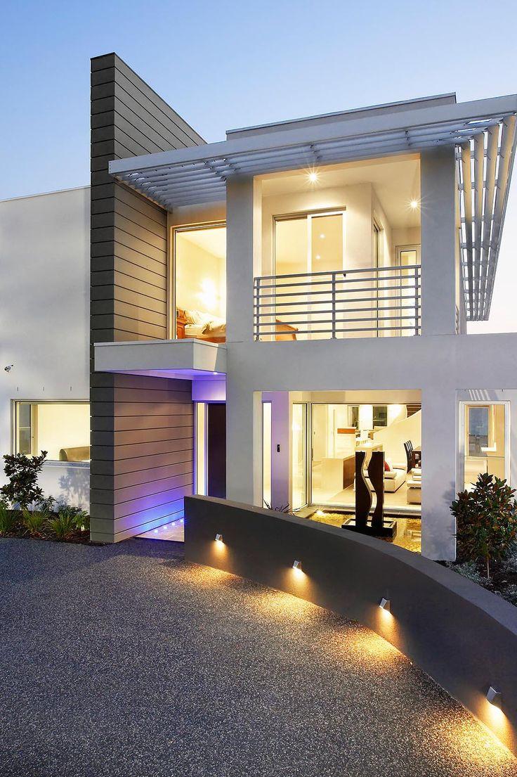 Fantasticas ideas para fachadas de casas 42 como - Dibujos de casas modernas ...