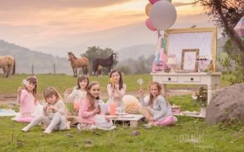 Fiesta para niñas con tematica de unicornios