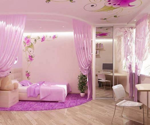 Habitaciones para ninas muy femeninos 3 decoracion de for Decoracion de interiores para ninas