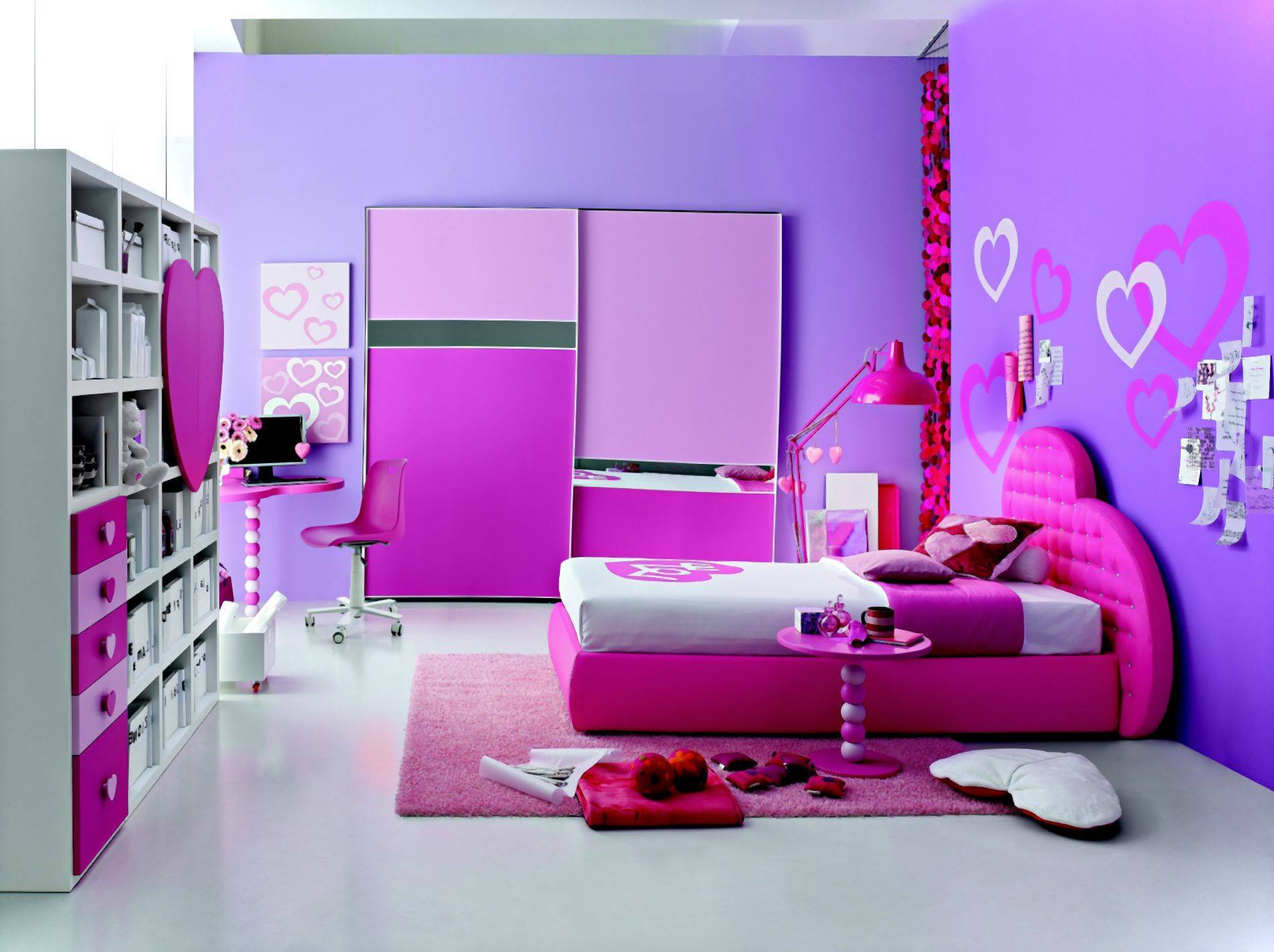 Habitaciones para ni as muy femeninos decoracion de - Habitaciones para nina de 11 anos ...