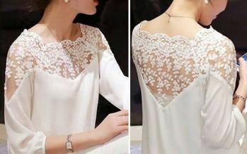 Hermosos outfits con blusas blancas