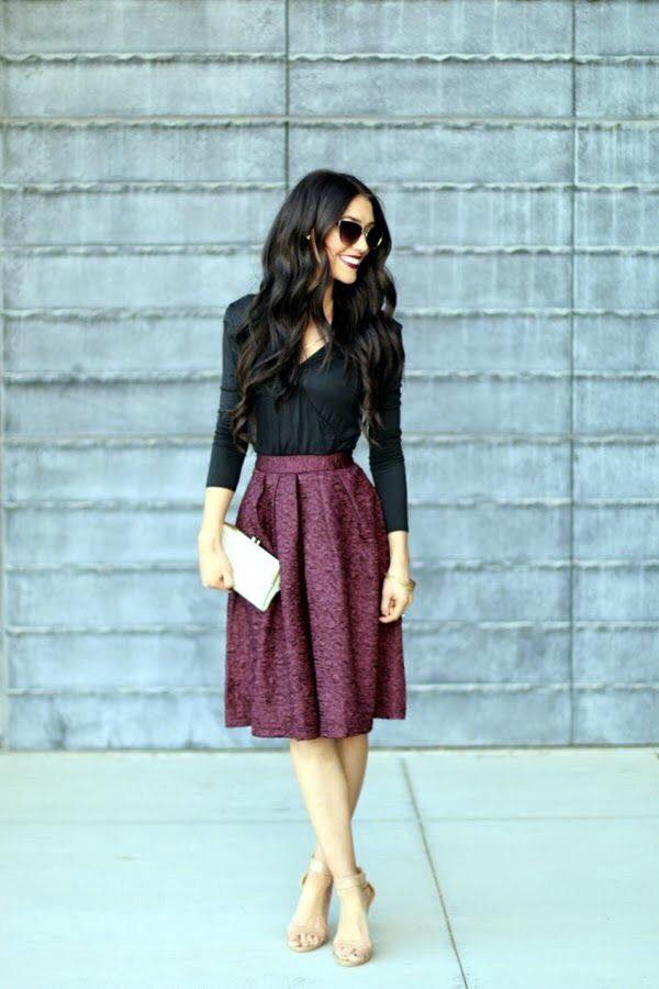 Hermosos outfits con estilo y glamour