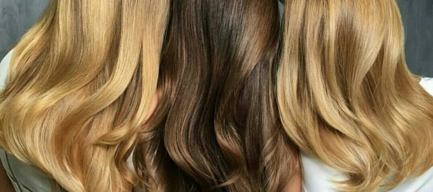 Ideas de color para cabello largo