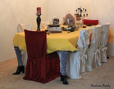 ideasparadecorartucasaenhalloween25 Decoracion de