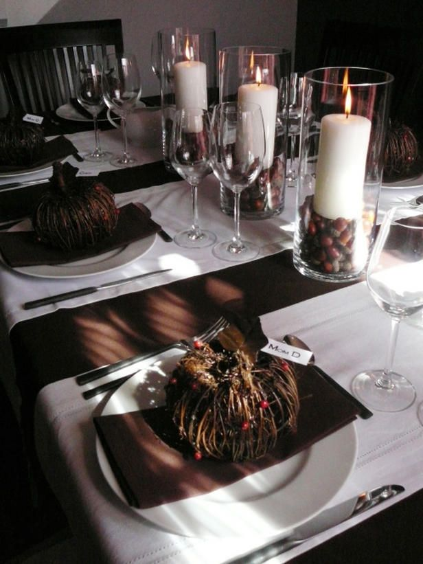 Ideas para decorar tu mesa en accion de gracias 10 for Decoracion de mesa para accion de gracias