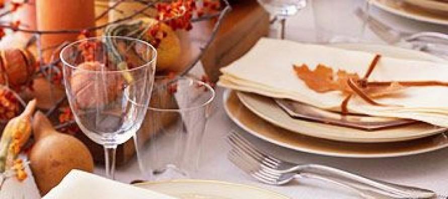 Ideas para decorar tu mesa en accion de gracias