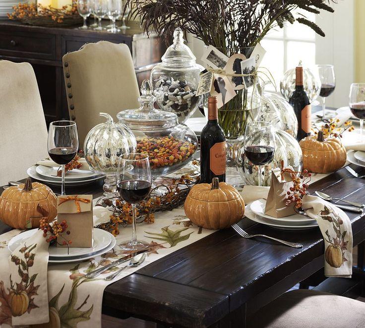 Ideas para decorar tu mesa en accion de gracias 38 for Decoracion de mesa para accion de gracias