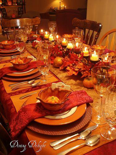Ideas para decorar tu mesa en accion de gracias 9 for Decoracion de mesa para accion de gracias