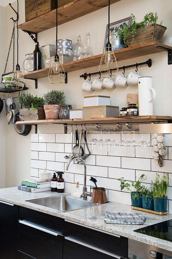 ideas-para-decorar-y-organizar-tu-cocina-17 | Decoracion de ...