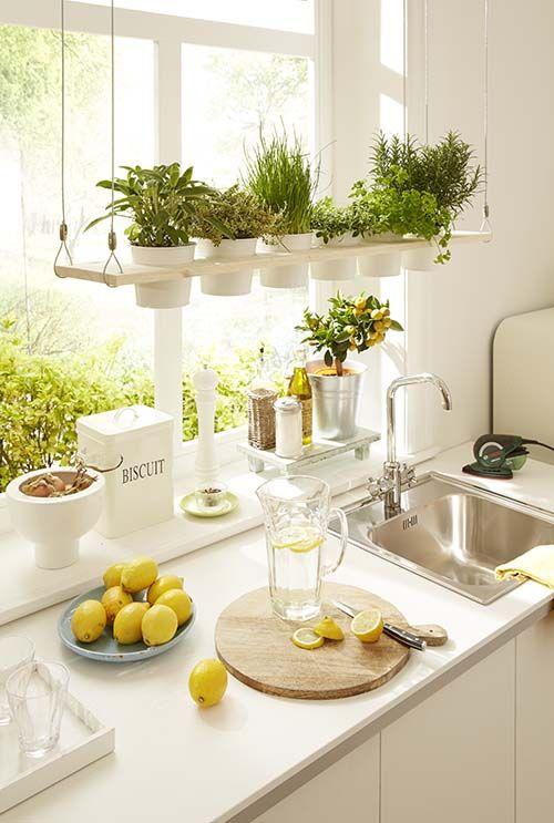 Ideas para decorar y organizar tu cocina 21 decoracion de interiores fachadas para casas como - Ideas para decorar tu cocina ...