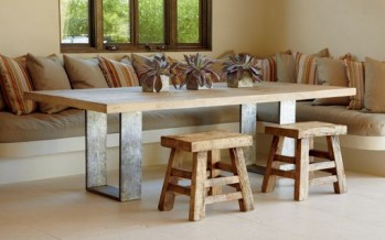 Muebles de madera – Decoración rustica