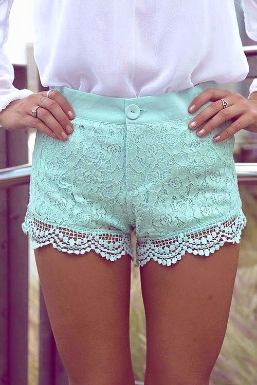Outfits con shorts hermosos y súper cómodos  (17)