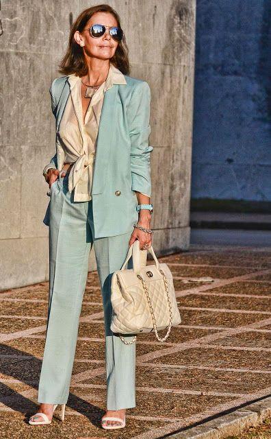 Outfits o Looks para el Trabajo si tienes 40 años o mas