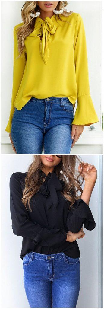 Tendencias en blusas de verano para mujeres de 40 años