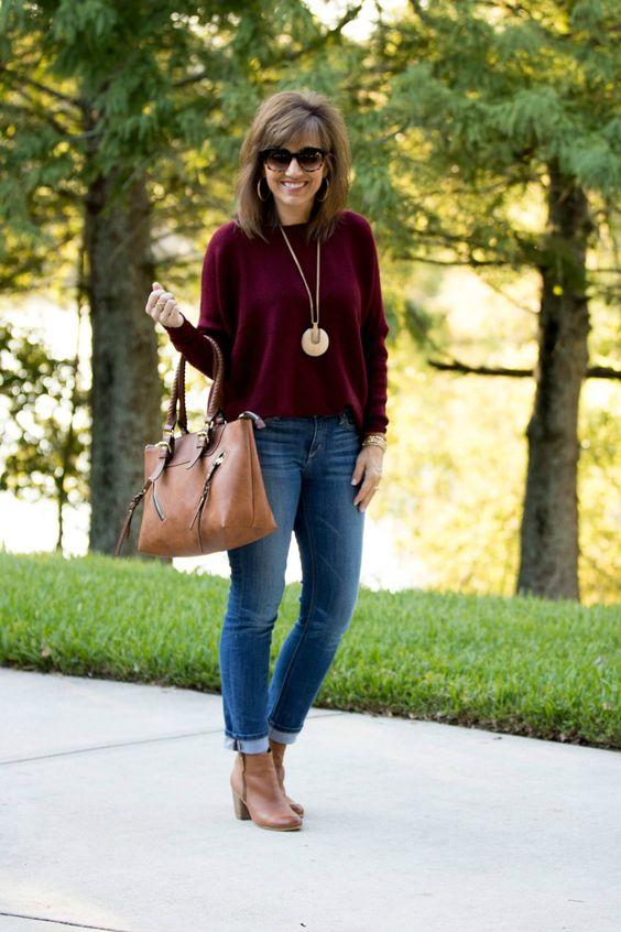 Tipos de pantalones que mas nos favorecen a las mujeres de 40 años