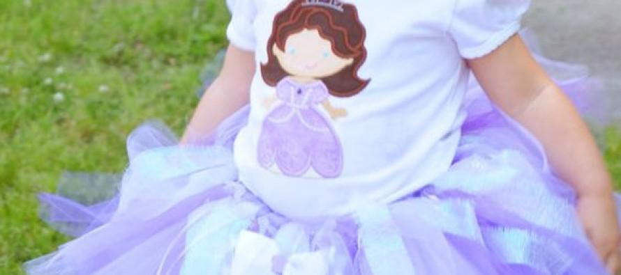 Tutus de princesita Sofia