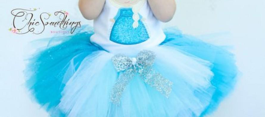 Tutus para niñas con tematica de Frozen