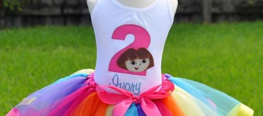 Tutus para niñas de Dora la exploradora