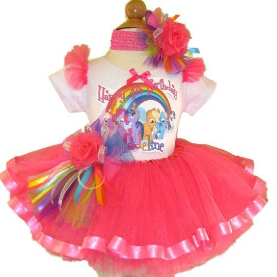 Tutus Para Ninas De My Little Pony 1 Decoracion De
