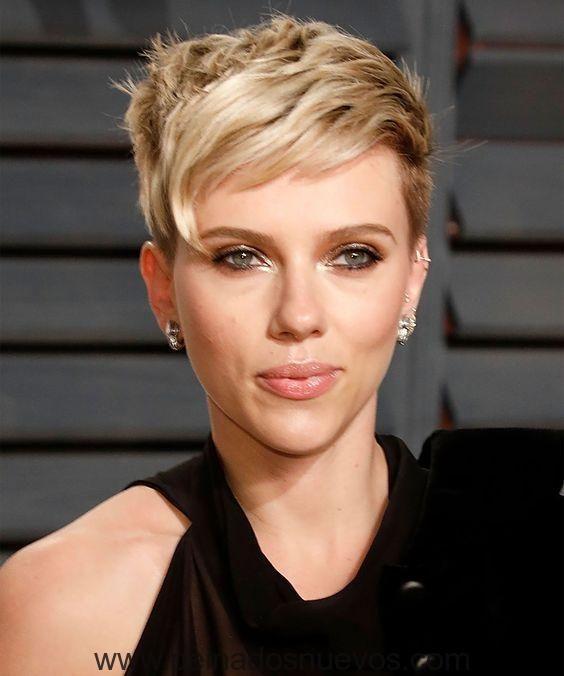 corte de pelo para mujeres con rostro triangular