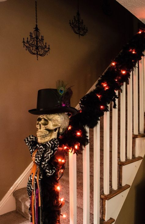 Guirnaldas luminosas de halloween