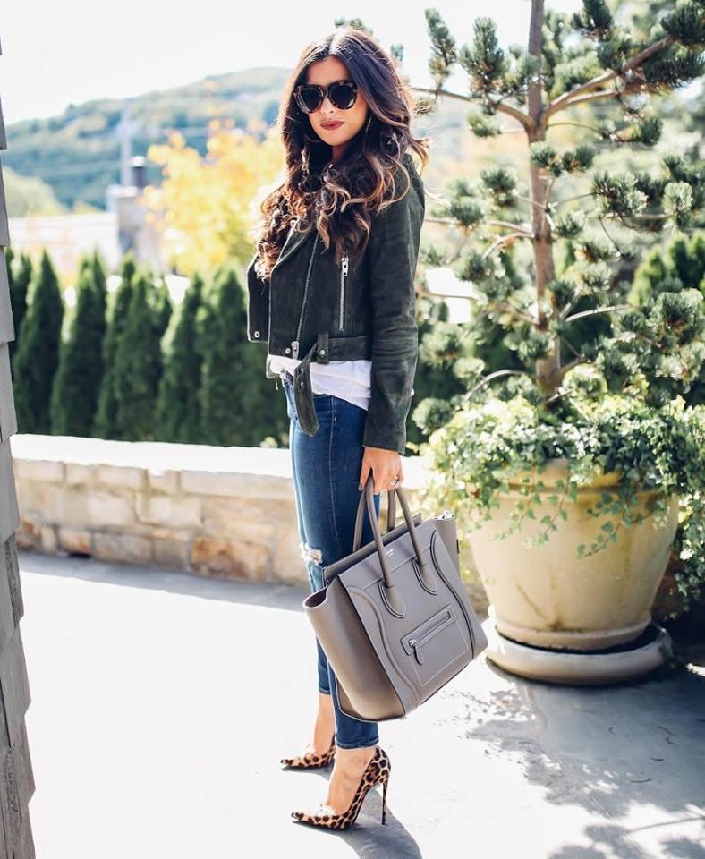 30 tendencias en bolsos con asa corta otoño - invierno