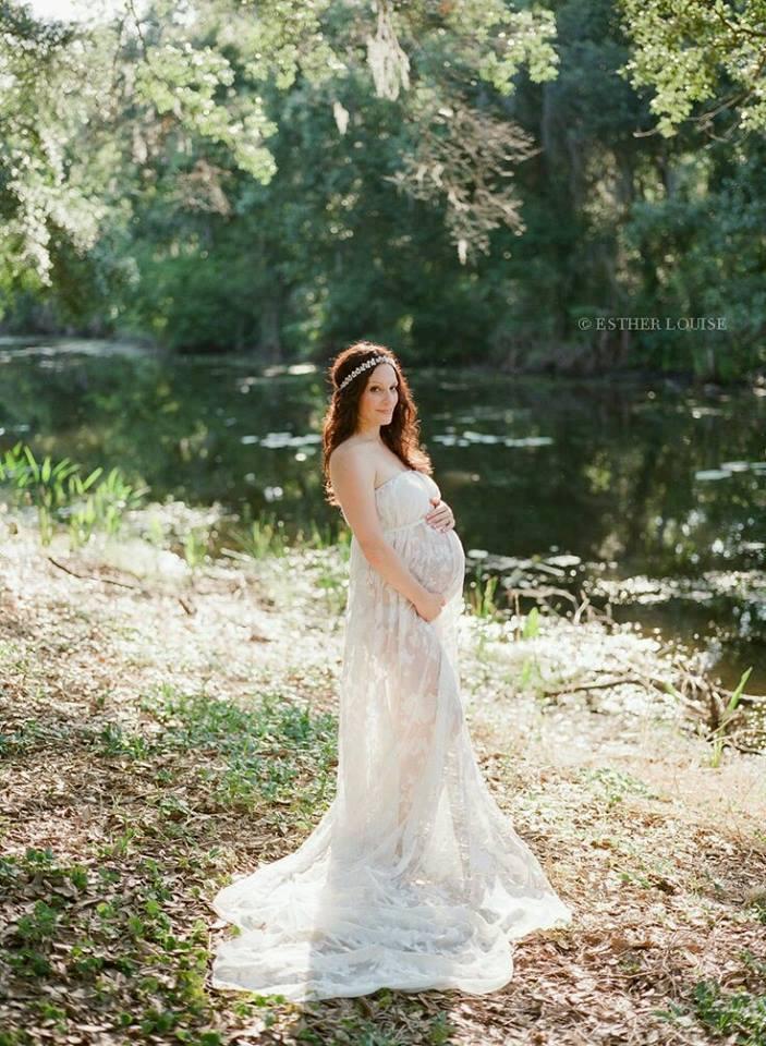 mejor servicio d654e 55089 Bellas sesiones para embarazadas con vestido de gala | Como ...