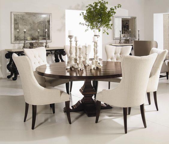 Comedores en color blanco 12 decoracion de interiores for Comedores modernos color blanco