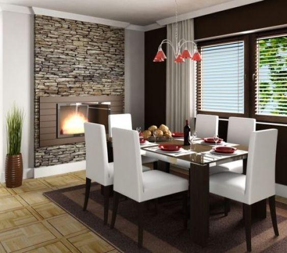 comedores en color blanco 3 decoracion de interiores