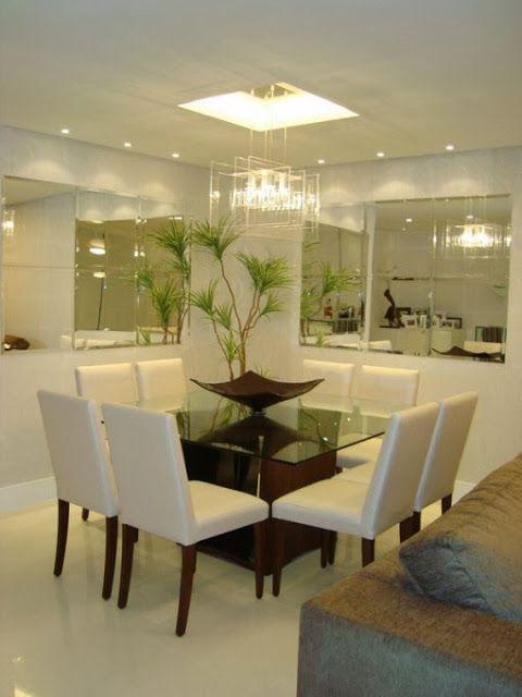 Comedores en color blanco 5 decoracion de interiores for Fachadas de comedores