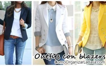 Crea outfits básicos con blazers ¡Mira estas opciones!