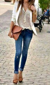 Crea outfits básicos con blazers