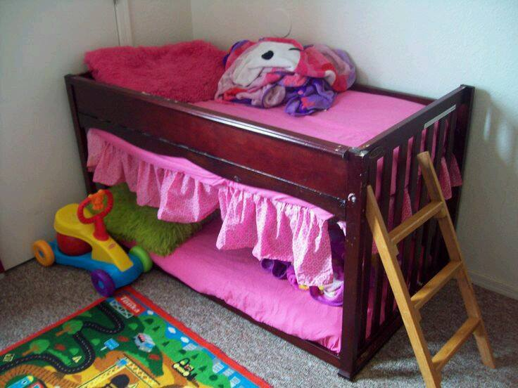 Upside Down Crib Bunk Bed