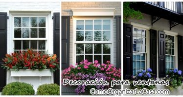 Decora tus ventanas con estas hermosas ideas