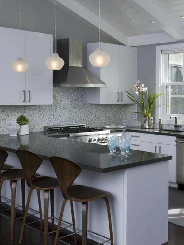 Decoracion de interiores cocinas en color gris 6 for Decoracion de interiores en gris
