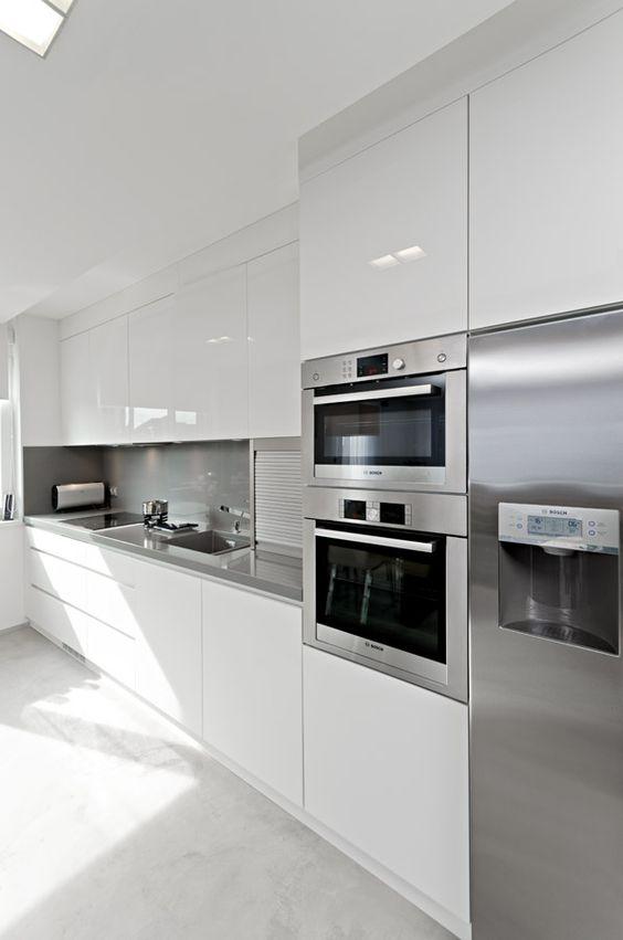 Decoracion De Interiores En Blanco Cocinas 10 Decoracion