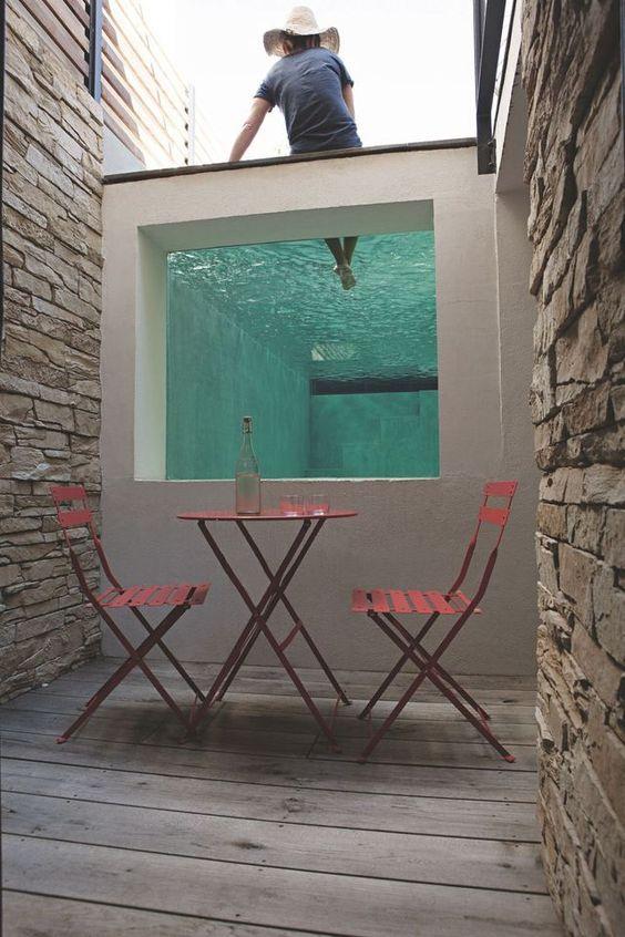Decoracion de terrazas rusticas tendencia y comodidad 11 for Ideas de piscinas economicas