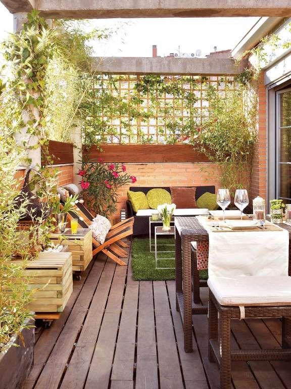Decoracion de terrazas rusticas tendencia y comodidad 8 for Decoracion de terrazas rusticas
