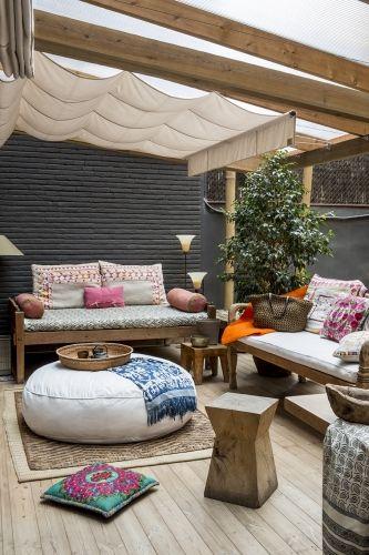 Decoracion de terrazas rusticas tendencia y comodidad 9 decoracion de interiores fachadas para - Terrazas interiores decoracion ...