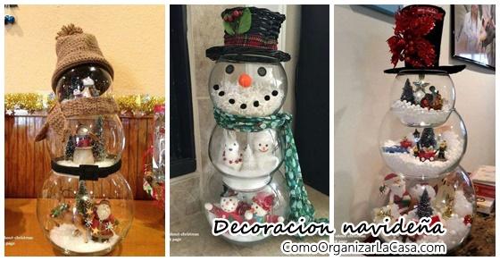 Decoraciones navide as con peceras decoracion de - Peceras pequenas decoradas ...