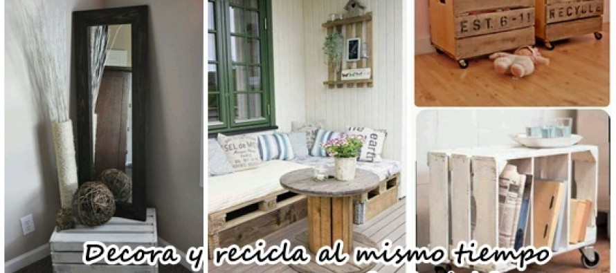 grandiosas ideas de reciclaje y decoracin diy