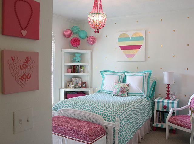 Hermosas ideas para decorar habitación de adolescentes